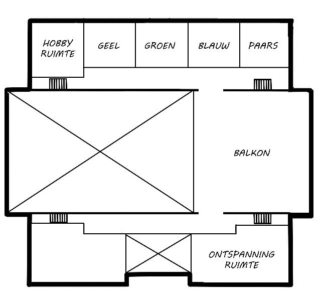 De Regenboog | Boven verdieping
